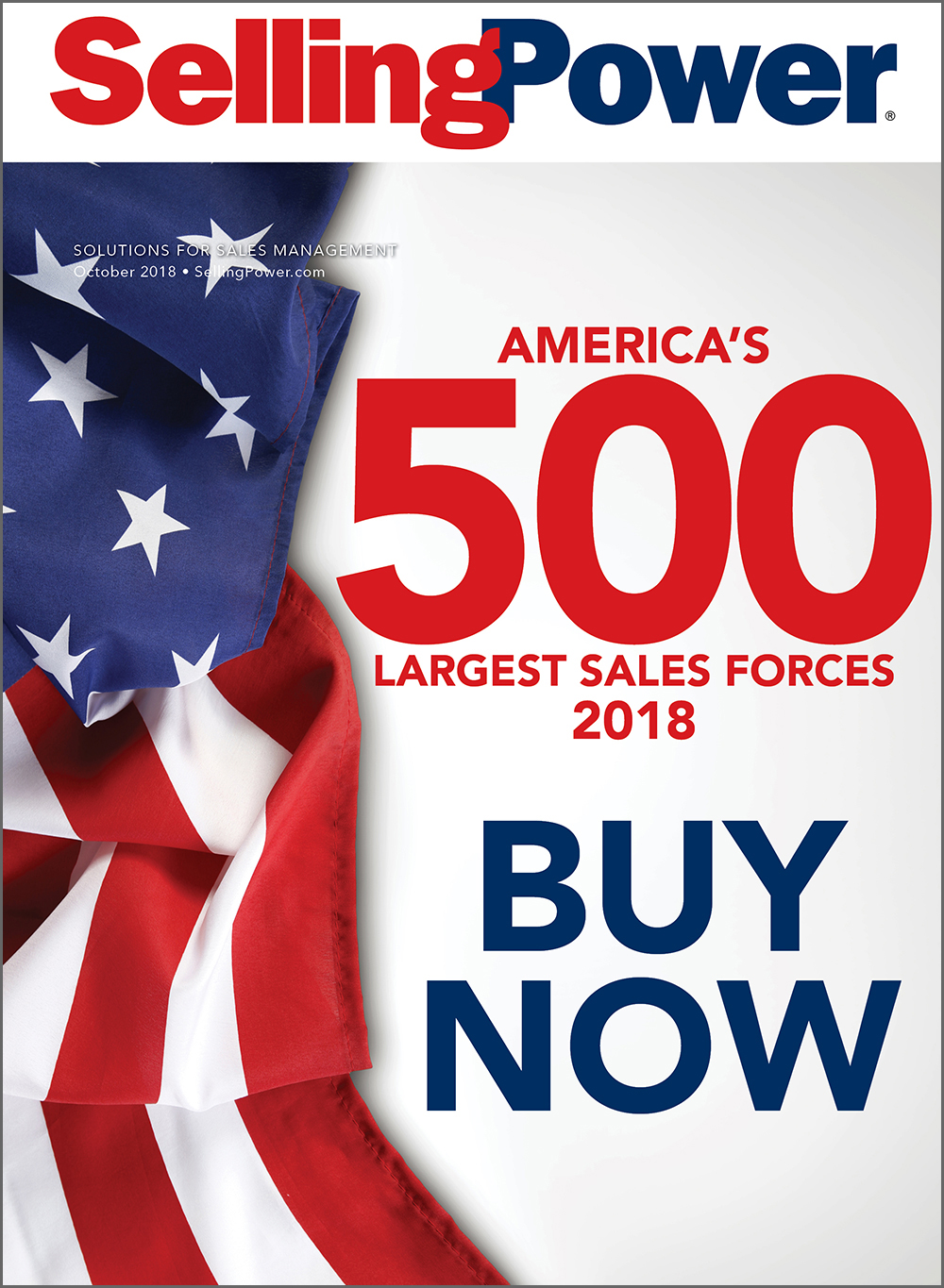 Selling Power 500 Largest Sales Forces (2018) - Selling Power